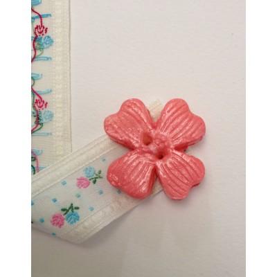 """Segnalibro """"Fiore rosa"""" - in vendita online - libreria"""