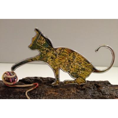 Gatto che gioca col gomitolo - in vendita online - libreria